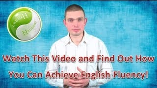 English Harmony System - Improve Your Spoken English & Fluency!