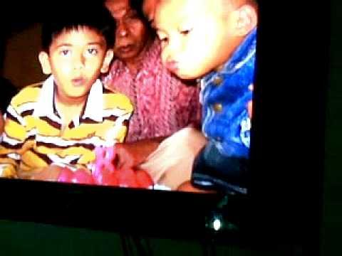 VID Iqbaal 'coboy junior' waktu kecil