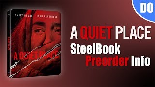 A Quiet Place Blu-ray SteelBook Pre-Order Info | Best Buy Exclusive