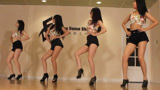 Sistar - Touch my body kpop dance cover by S.O.F (secciya)