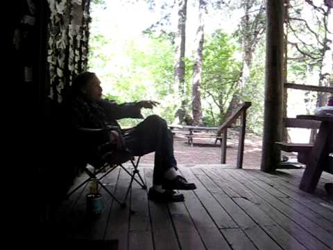 Uncle Tim at the Gin Mill in Seneca, CA (Feather River Canyon)