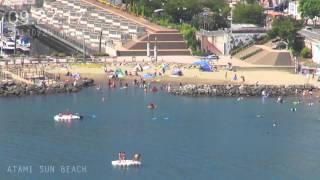 アタミラプス:みんな何時くらいからビーチに来るのだろう#4 2014年7月29日