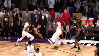 Finals seconds of Team LeBron vs Team Stephen - All Star Game 2018
