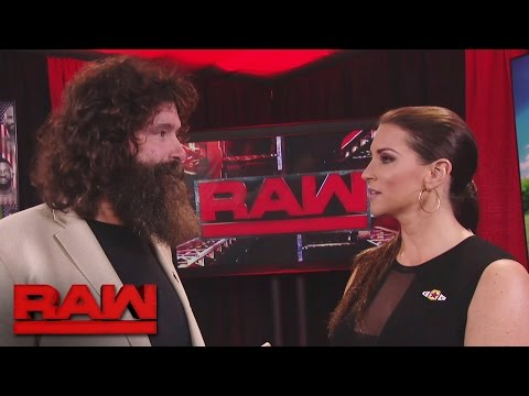 Mick Foley questions Stephanie McMahon's integrity: Raw, Sept. 26, 2016