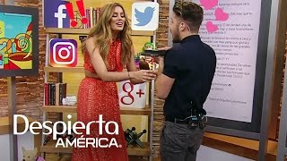 Ariadna Gutiérrez quedó fascinada con el nuevo juguetito de William