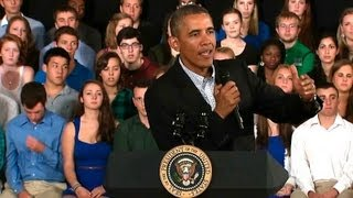 President Obama Holds a Town Hall on College Affordability