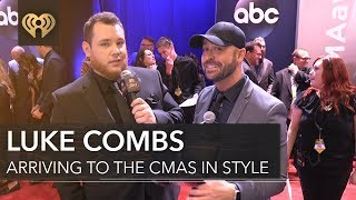Luke Combs New Artist of the Year Interview | CMA Red Carpet Interview