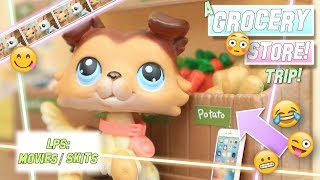 LPS: A Grocery Store Trip (Funny Skit)