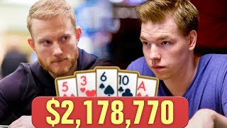 RECORD BREAKING $2 MILLION POKER POT!
