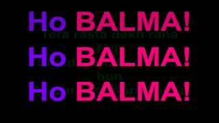 Balma | Khiladi 786 | Lyrics