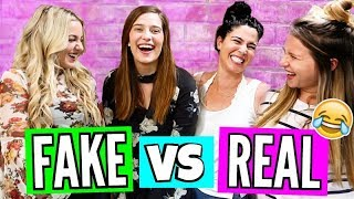 Fake Friends VS. Real Friends!