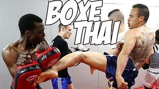 Boxe thaïlandaise : Séance d'entraînement au Team André Zeitoun