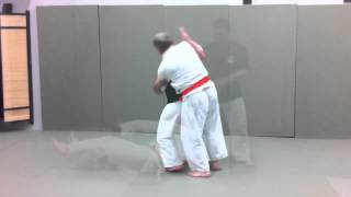 65-Year-Old Jiu-jitsu Student Gets Tossed Around