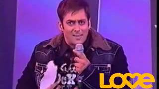 Salman Khan Sing Dil deewana & Other Songs LIVE On The Stage