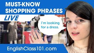 ALL Shopping Phrases You Need to Know - Improve Your English