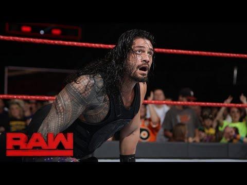 Roman Reigns vs. Chris Jericho - United States Championship Match: Raw, Jan. 2, 2017