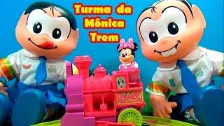 Turma da Mônica - TREM DA MINNIE MOUSE - MÔNICA E MAGALI BRINCAM