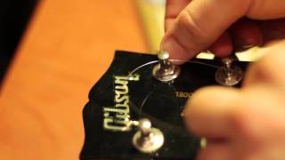 Como Cambiar Cuerdas Guitarra Electrica Parte 2