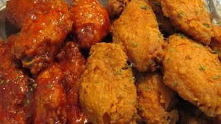 HOW TO MAKE SPICY CHIPOTLE WET & DRY BUFFALO WINGS
