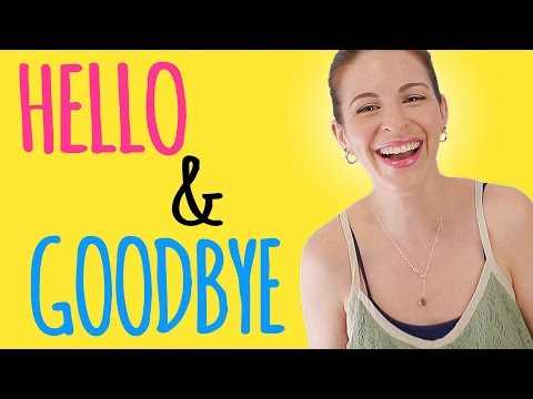 HOW GERMANS SAY Hello & Goodbye
