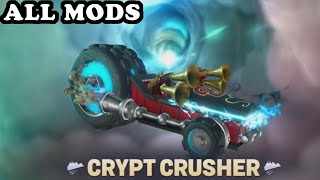 Skylanders Superchargers - Crypt Crusher All Mods GAMEPLAY