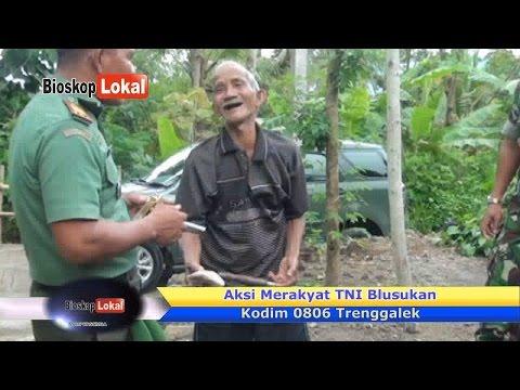 TNI Blusukan - Kakek Tua Lucu Banget Panjang Umur Perokok Lintingan