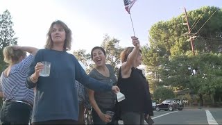 Some Napa Neighborhoods Celebrate After Returning To Homes
