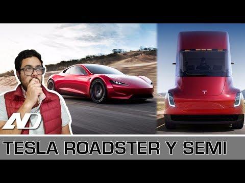 Tesla Semi y Tesla Roadster - Mi Opinión y preocupaciones