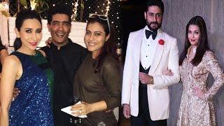 Bollywood Stars Attend Manish Malhotra