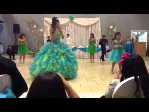 Ayana s Quinceanera Waltz and Surprise Dance