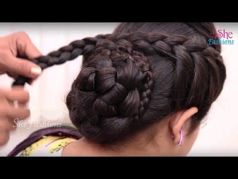 Xxx Mp4 Bridal Bun Hair Style For Long Hair Ladies Hair Style Tutorials 2017 3gp Sex