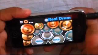 Real Drum Cover of Priyashi (Crazy-55)