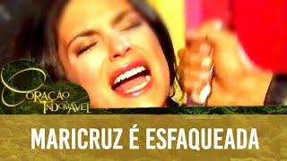 Coração Indomável - Maricruz é Esfaqueada (Dublado)