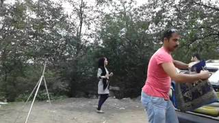 رقص قصير لبنات شمال إيران ه طريق جواهردي