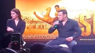 Sultan Trailer Launch - Salman Khan Says Haryani Dialogues!