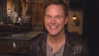 Behind the Scenes with Chris Pratt at