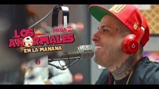 Nicky Jam Improvisando Con Los Anormales Miami Por Mega949 (ON FIRE)