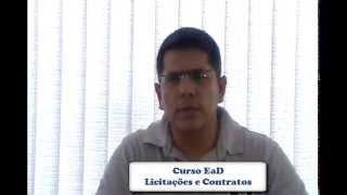 Curso Licitações e Contratos