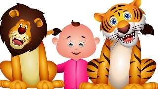 Five Little Babies Went To A Zoo - Nursery Rhymes Collection - Jam Jammies Children Songs