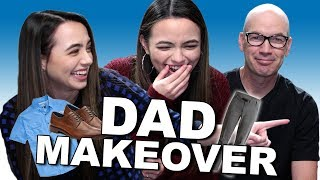 Dad Makeover Challenge - Merrell Twins