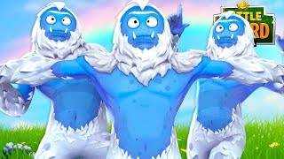 The Brand NEW YETI SKINS in FORTNITE - Fortnite Short Film