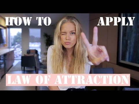 How to Use the Law of Attraction Cornelia