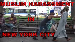 Muslim Harassment IN NEW YORK SOCIAL EXPERIMENT!
