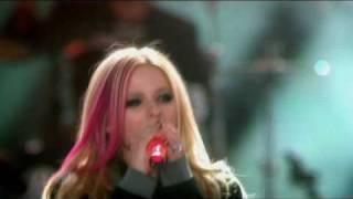 Avril Lavigne - hot live world music awards 2007