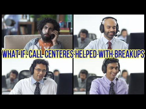 Xxx Mp4 What If Call Centres Helped With Break Ups Ep 5 LaughterGames 3gp Sex