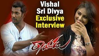 Rayudu Team Exclusive Interview | Vishal | Sri Divya | NTV