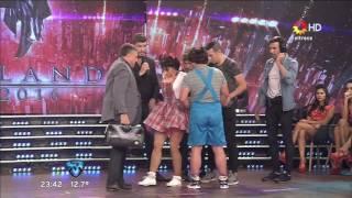 Anita Martínez se lesionó en el duelo del Bailando