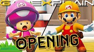 Super Mario Maker 2 - Story Mode Opening Cutscene