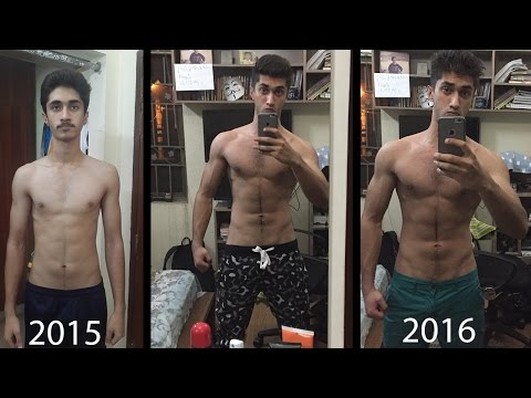 18 Year OLD | ALL Natural INSANE Teen Body Transformation | Skinny to Muscular | Motivational !