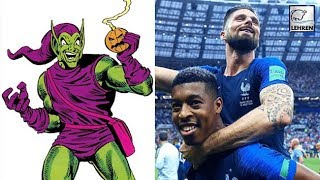 Olivier Giroud To Voice The Green Goblin In New Spider-Man Film